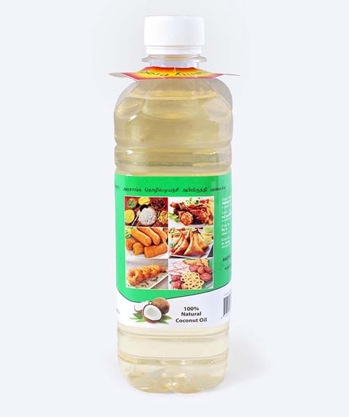BCC White Coconut oil 500ml Bottle