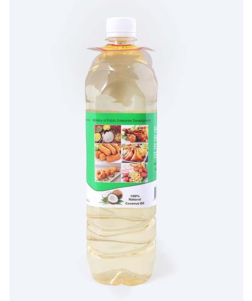BCC White Coconut oil 01 L Bottle