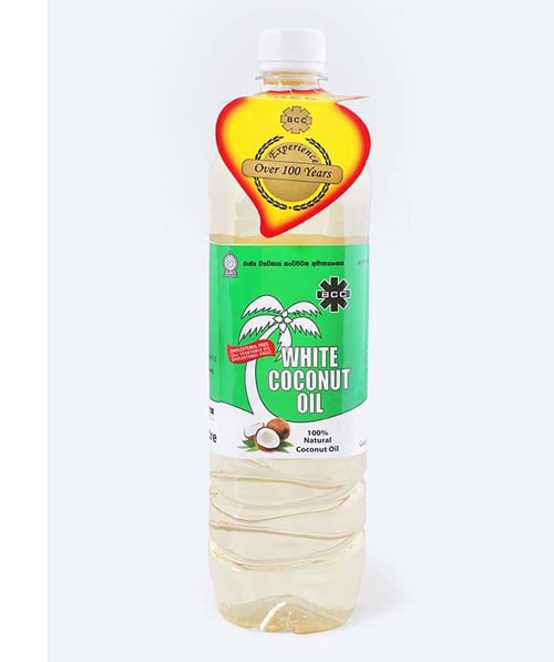 BCC White Coconut oil 750 ml Bottle