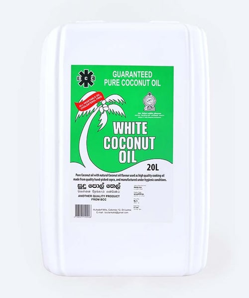 BCC White Coconut oil 20L Can